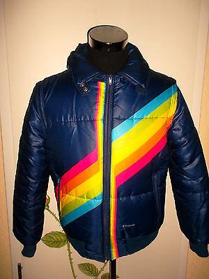 rare vintage italy 70`s POLAROID Skijacke Winter blouson jacket ski Gr.50 M