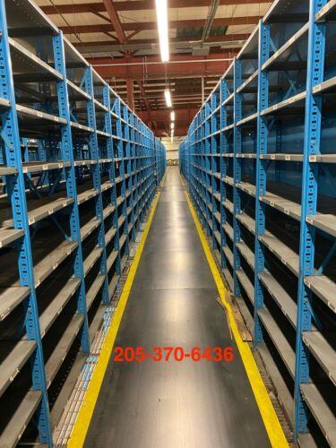 Used Borroughs Industrial Steel Shelving Units