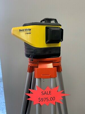 David White Lr 430hdv Construction Rotary Laser Level