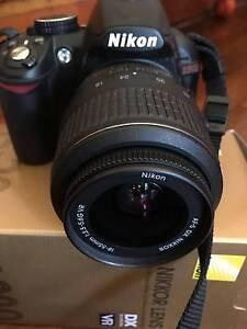 Nikon D3100 DSLR bundle+ Lens 18-55mmVR+Nikon camera bag Surry Hills Inner Sydney Preview
