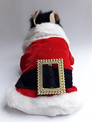 Hundekostüm Verkleidung Haustier Pet Weihnachten Santa Claus NEU