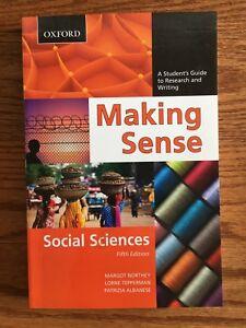Making Sense - Social Sciences fifth edition