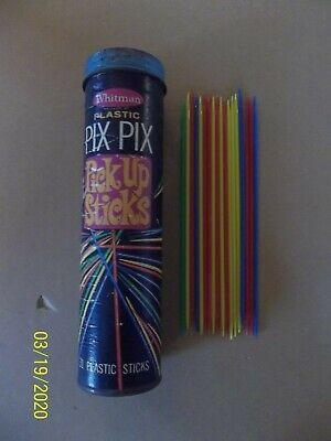 Pix Up Sticks (Pix Pix Pick Up Sticks - Vintage Game - 1968 - Whitman -)