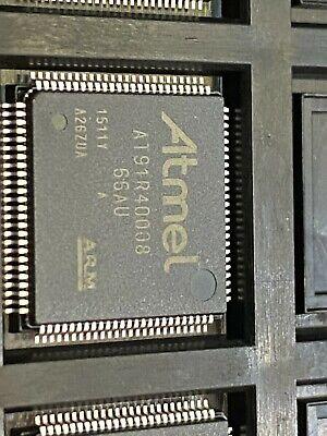 5 Pcs At91r40008-66au  Mcu 32-bit Arm7tdmi Risc Romless 1.8v 100-pin Lqfp