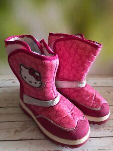 Sanrio Hello Kitty Snow Boots
