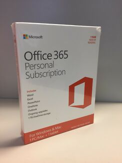 Office 365 Microsoft personal subscription - geniune