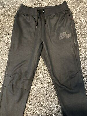 Mens Nike Air Jogger Bottoms Size M  Black