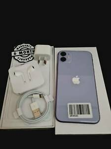 iPhone 11 128GB purple With 6 months Warranty Sales & Tax invoice