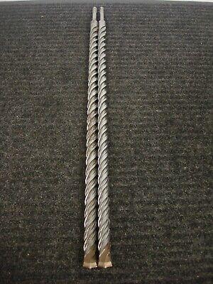 Lot Of 2 New Dewalt Dw5457 34 X 24 Sds Plus Hammer Drill Bits