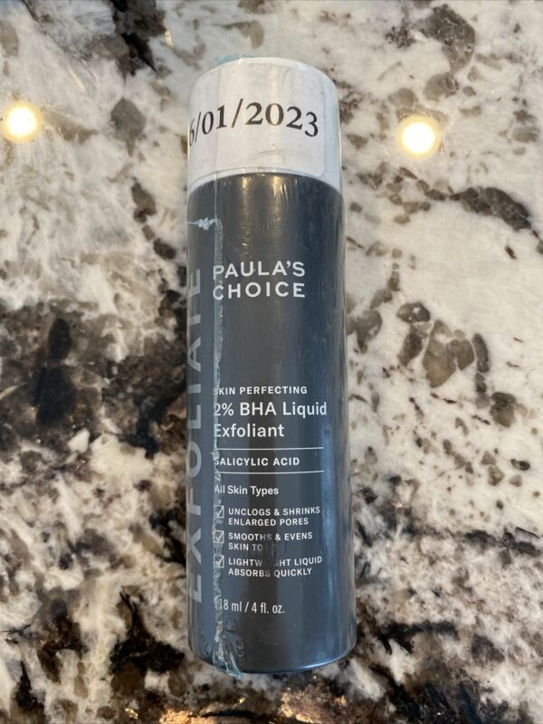 Paulas Choice-SKIN PERFECTING 2% BHA Liquid Salicylic Acid Exfoliant-Facial 4.oz