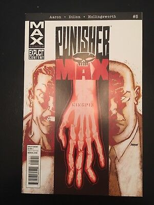 Punisher MAX #5 1st Shelton Pendergrass Bullseye Kingpin Netflix