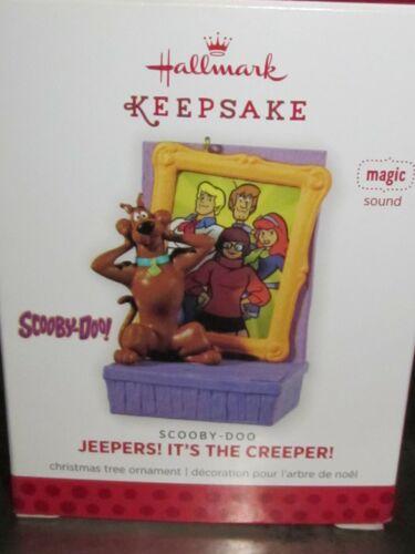Hallmark Ornament 2013 Scooby-Doo JEEPERS! IT