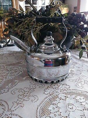 The Simplex Patent Copper Tea Kettle Gas Stove Top Chrome Williams Sonoma