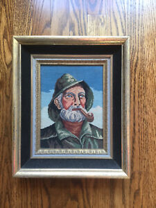 Vintage Sailor - Fisherman Needlepoint