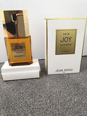 Jean Patou Eau De Joy Eau De Perfume 45ml Spray New In Box (Rare Vintage )