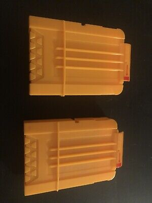 Nerf Hasbro Yellow Dart Ammo Magazine C086B From 2006 Yellow Cartridge Used Qty2