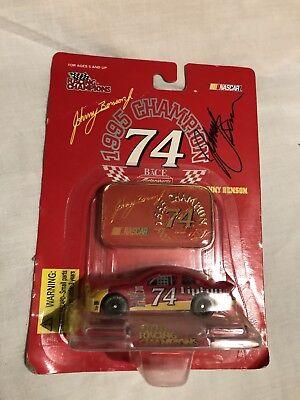 Johnny Benson Autographed 1/64 Diecast