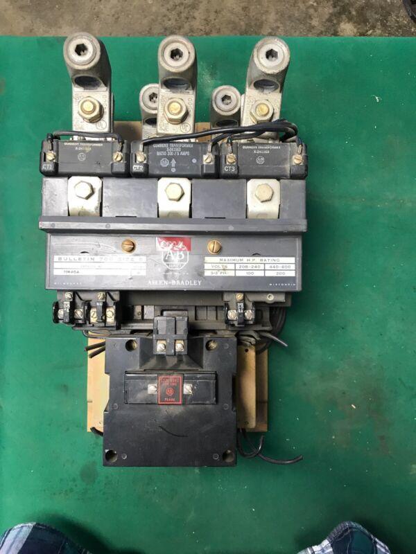 Allen Bradley A-B Bulletin 709 Size 5 Series K 709-FOA Starter