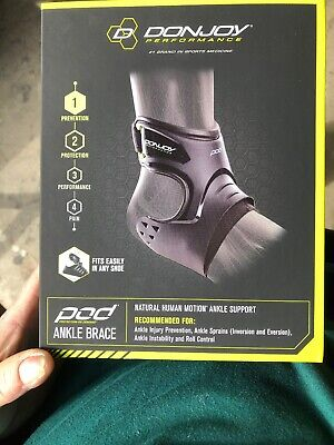 DonJoy Performance POD Ankle Brace, Best Support for Stability, Ankle (Best Ankle Support For Sprain)