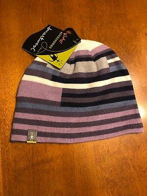 KIDS SMARTWOOL/WINTERSPORT STRIPED HAT    Desert Purple - L/XL Smartwool Striped Hat