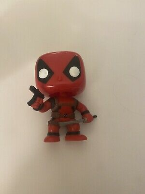 Funko POP! Marvel  #20 Deadpool (Red) Bobble head Vinyl Figure