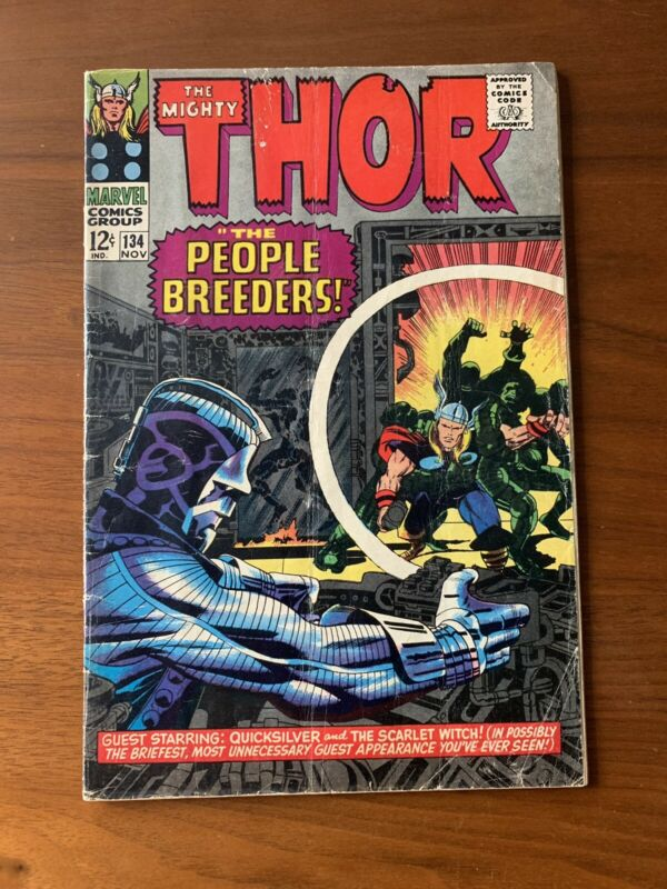 The Mighty Thor #134: 1st High Evolutionary!