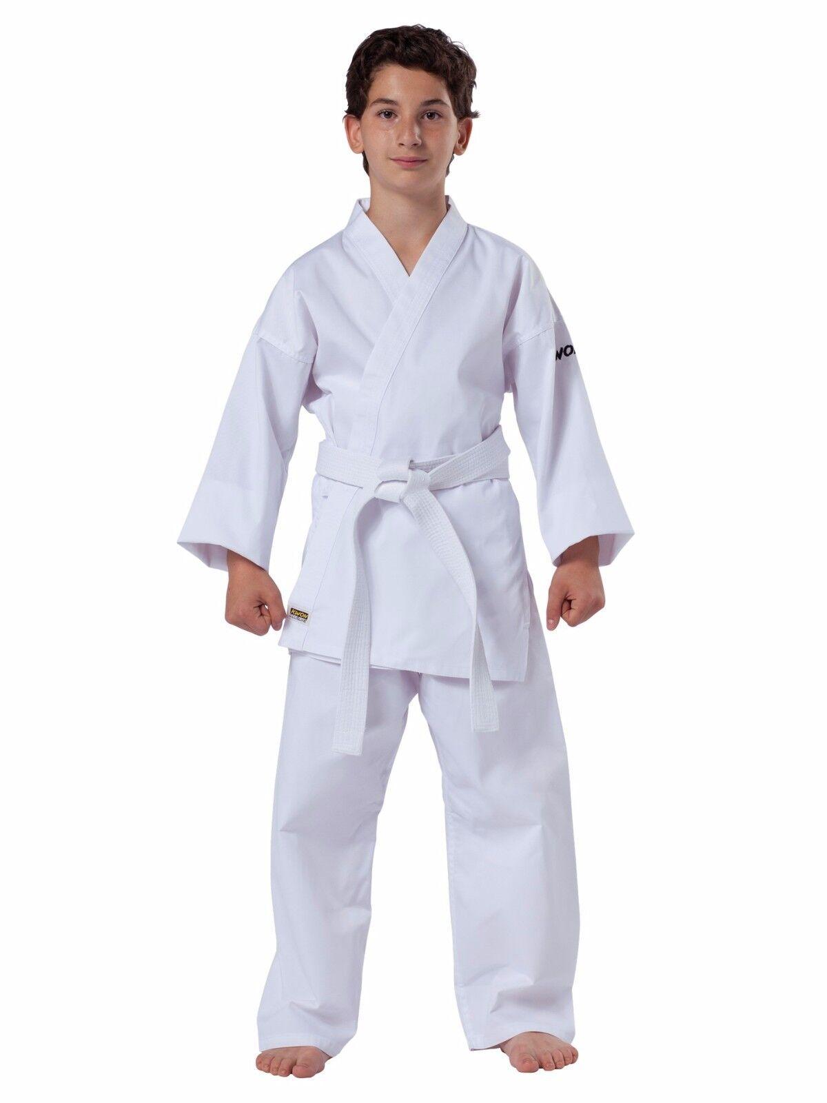 Kwon®  Karateanzug Junior/Basic Clubline 80-190 mit Gürtel für Kinder und Jugend