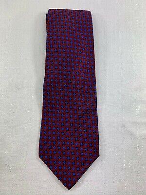 Grenadier London Men's Diamond Patterned Silk Tie Diamond Patterned Silk Tie