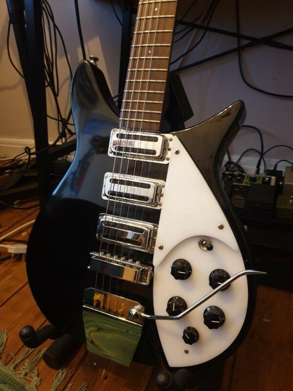 John Lennon Rick 325 Replica Tanglewood Korean Beatles Guitar
