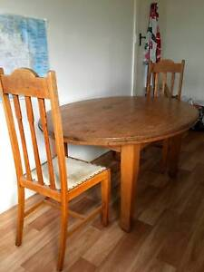 1920s Oak Oval Dining Table 6 Seater