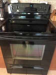 Whirlpool Electric range (stove) and microwave