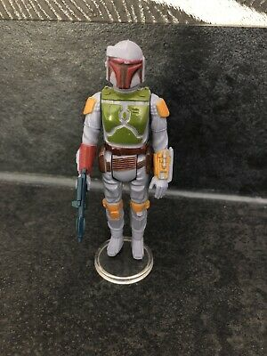 Star Wars Vintage Boba Fett Action Figure (Original Vintage Weapon) .. Near Mint
