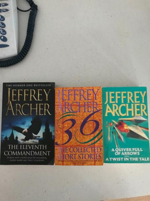 Jeffery Archer Fiction Books Gumtree Australia Port Hedland Area