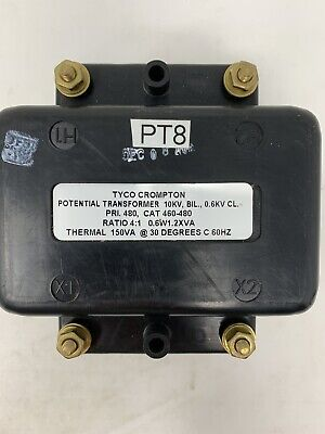 Instrument Transformers Potential Transformer 460-480 Pri 480v Ratio 4 1