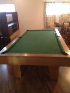 Table de pool en ardoise