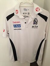 Men's Collingwood football club polo shirt Carseldine Brisbane North East Preview