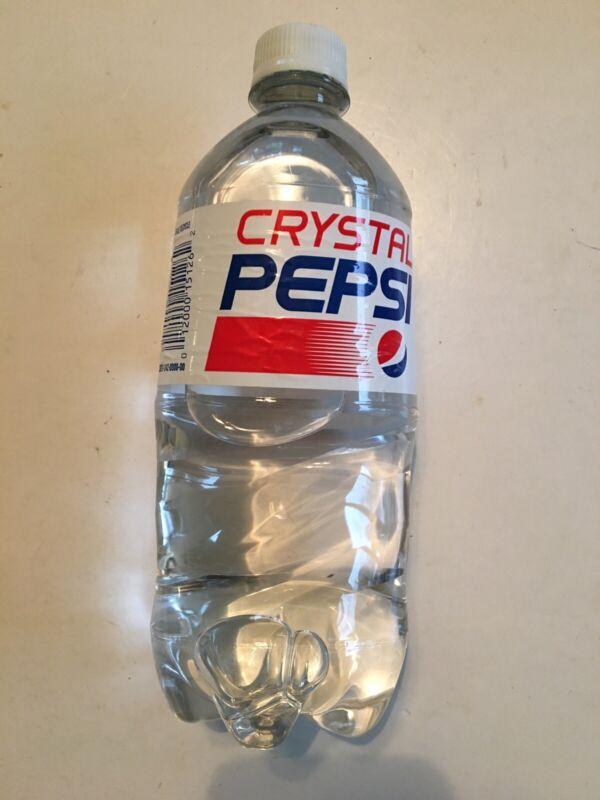 Crystal Pepsi 2017 Date Sealed