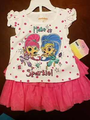 Toddler girls outfit Shirt and Skort NICKELODEON size 2T NEW! Great for Easter! (Easter For Toddlers)
