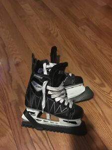 Boys CCM hockey skates