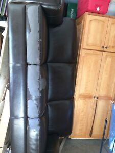 Leather couch - 25 obo
