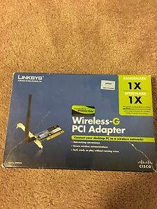 Linksys Wireless G PCI adapter