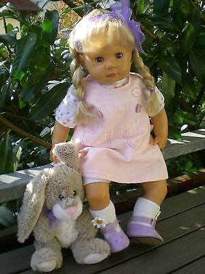 Zapf Colette Puppe 50 cm Ina blond 2002 Spielpuppe Sammlerpuppe Doll