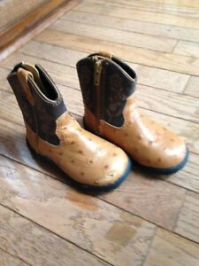 Authentic Calgary Stampede cowboy/cowgirl boots - size 5