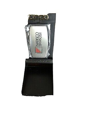 Vintage Zippo Advertising Nabisco Pocket Knife and Money Clip with box