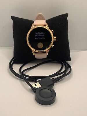Michael Kors Gen 4 MKT5048 Women's Smart Watch Authentic Band With Charger JD54
