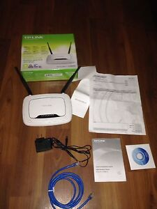 Internet Router TP-Link TL-WR841N with 2 year warranty