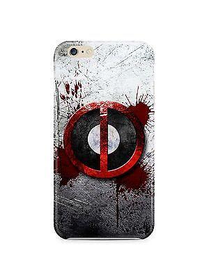 Iphone 4s 5s 5c 6 6S 7 8 X XS Max XR 11 Pro Plus Hard Cover Case Deadpool Logo