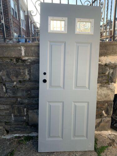 """Brunswick 32 X 79"""" VTG 1 1/2 Hour Fire Rated Exterior Steel Door Local PICK UP"""