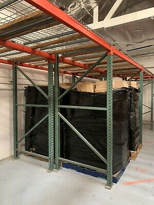 Pallet Rack Upright 8x4 34 - Horizontal Beam 98 15. - Wire Decking 48x498.