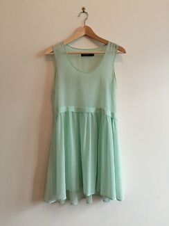 beautiful chiffon aqua size 8 dress Erskineville Inner Sydney Preview